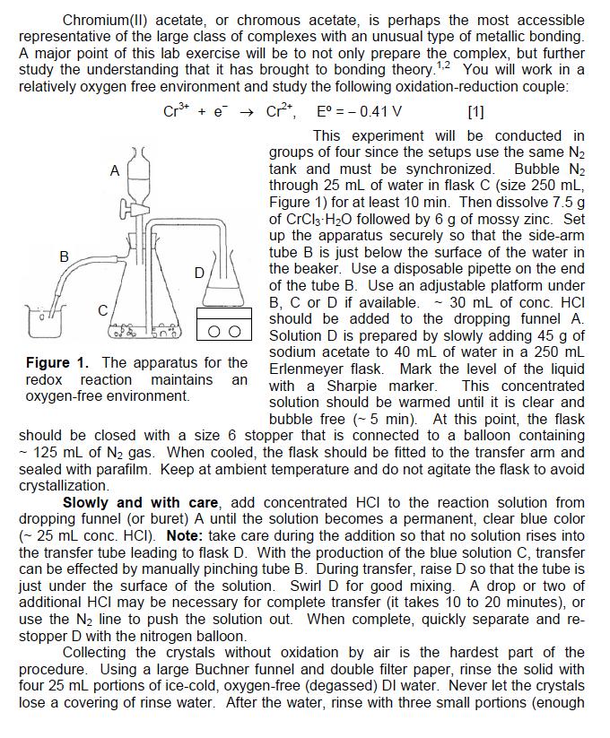 uses of chromium acetate