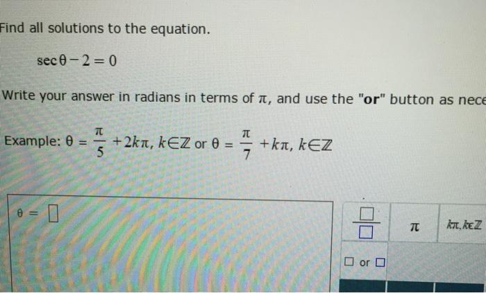 radian formula