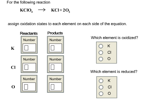 Oxidation Numbers, or Oxidation States, Tutorial