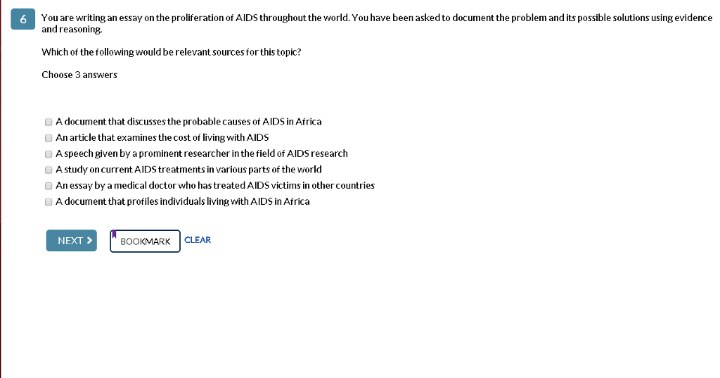 AIDS Problem Essay