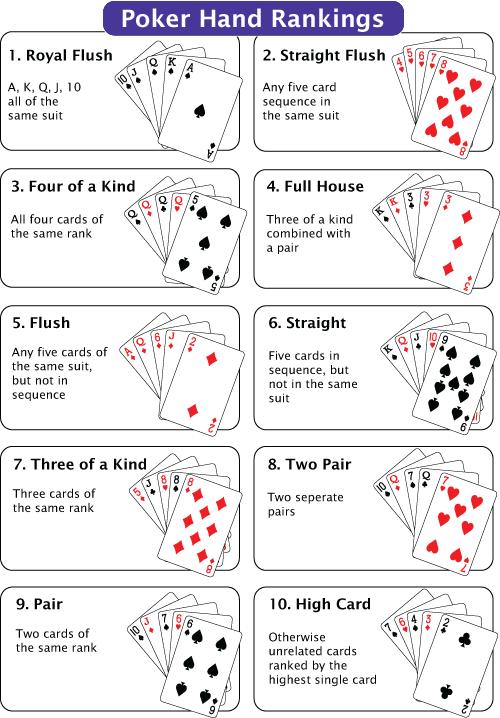 Standard poker deck royal hotel essendon poker
