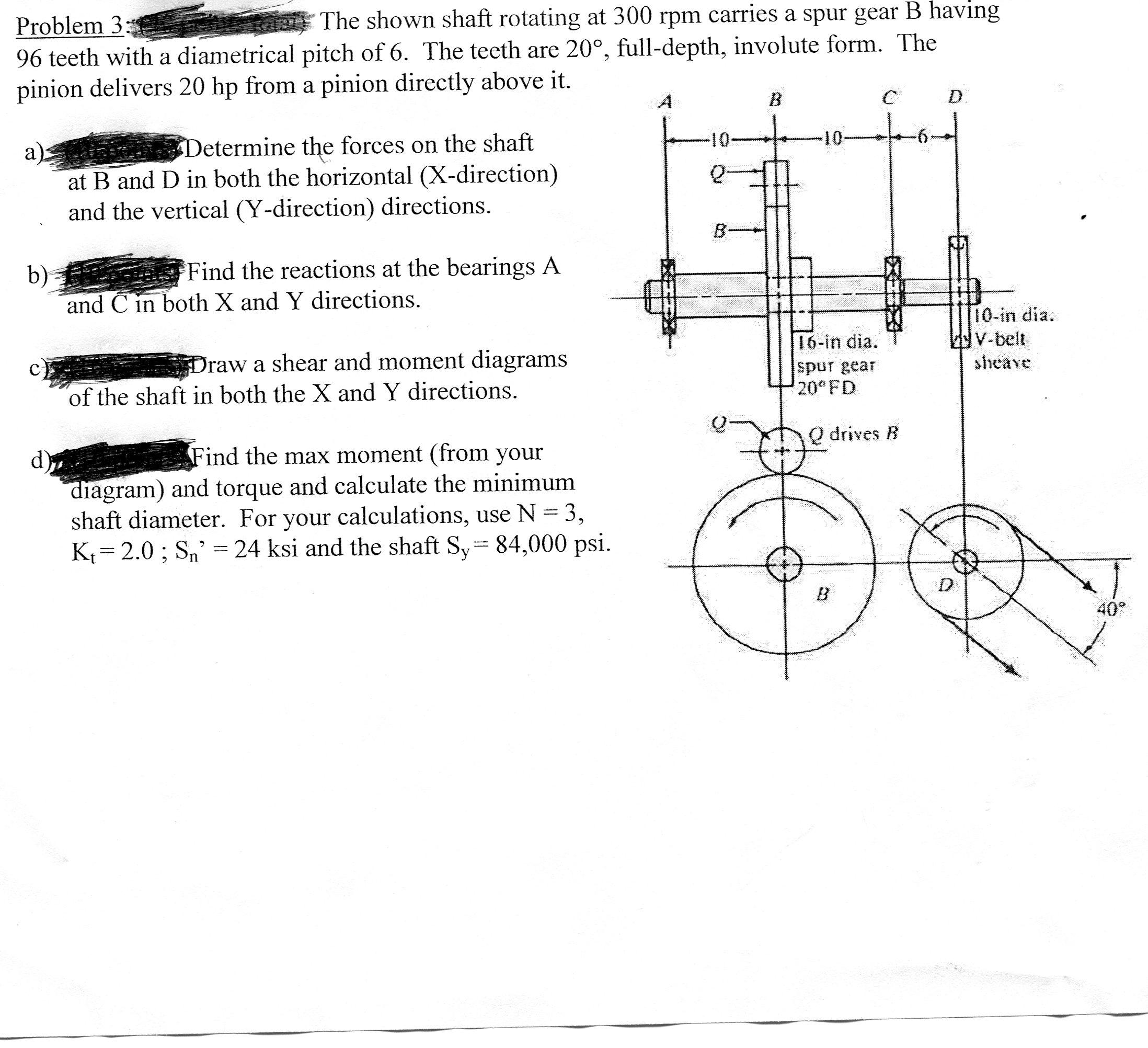 Problems of the design of machine elements