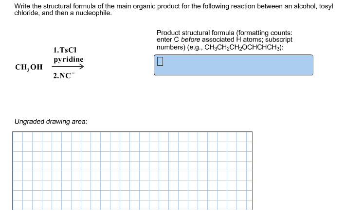 Example, homework to do online the first