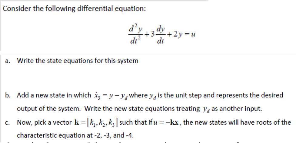 write a system of equations and solvency