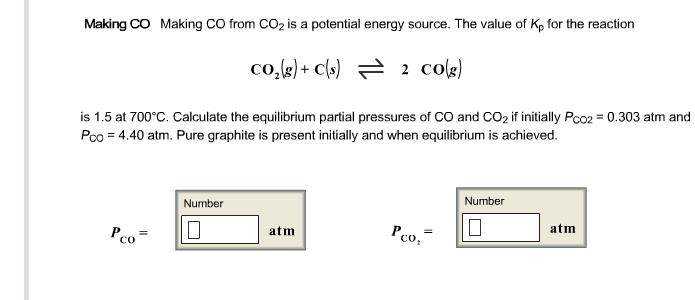 partial pressure and initial d equilibrium