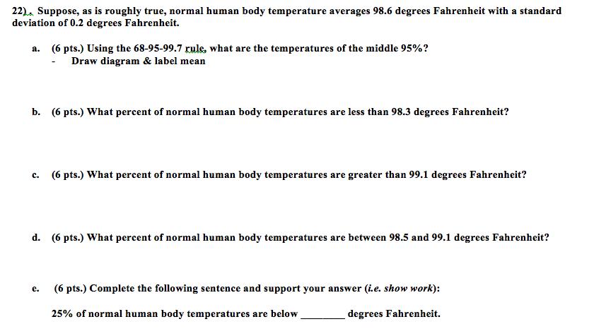 Body temperature 99.1