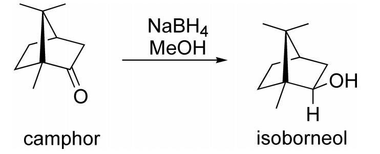 Oxidation of Borneol