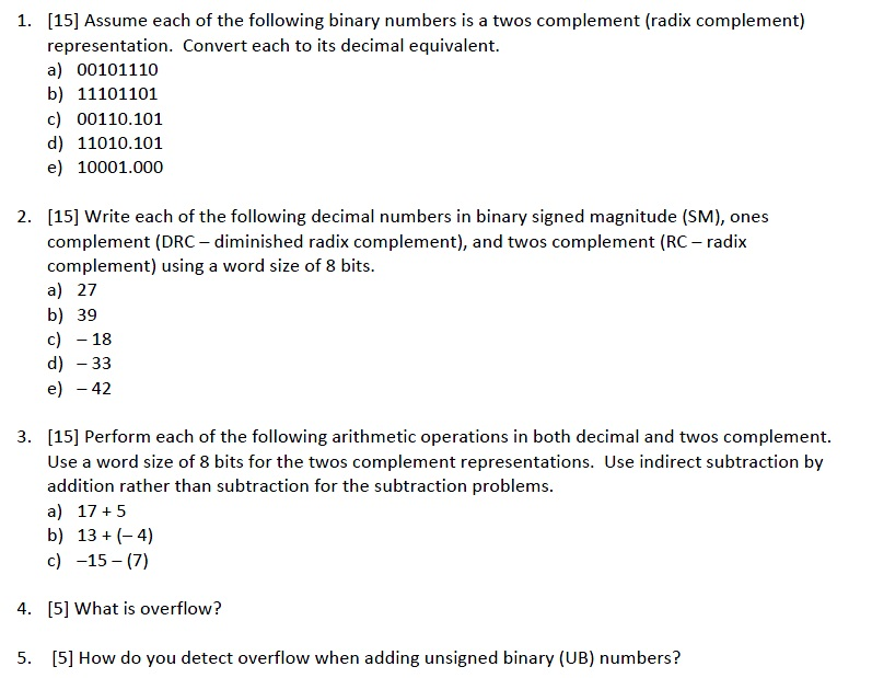 What steps are required form an algorithm to convert a binary number to it's decimal equivalent?