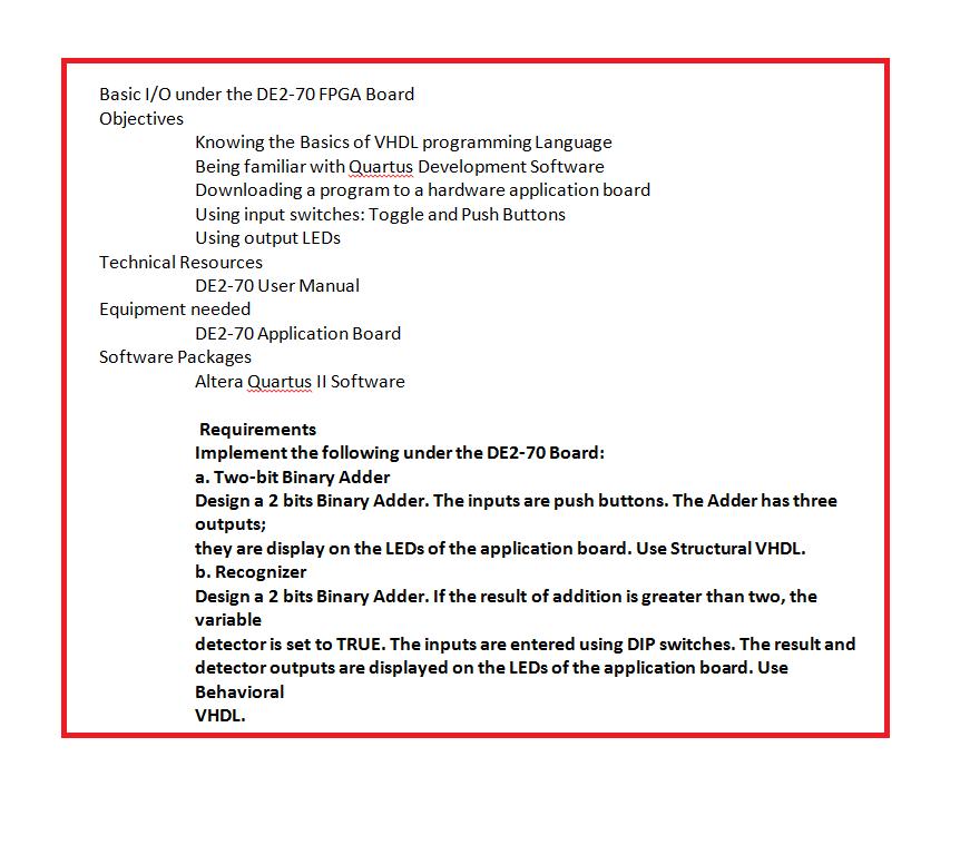 Manual VHDL: Basics to Programming