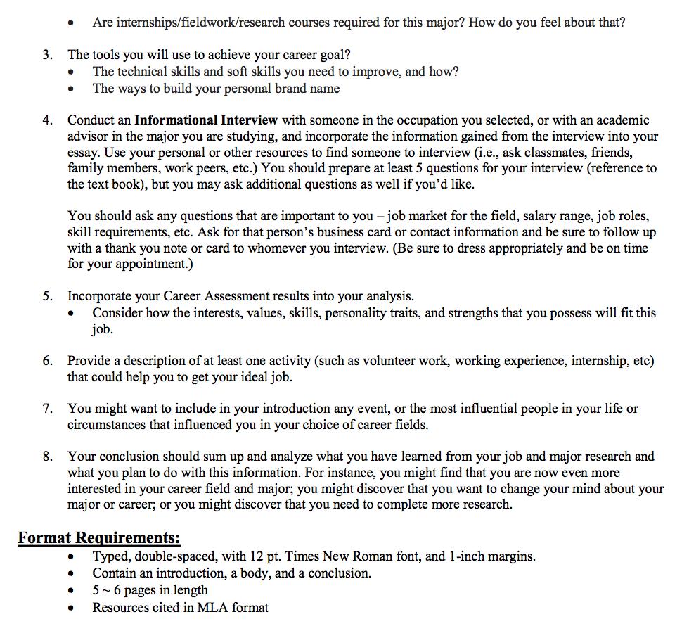 essential skills essay