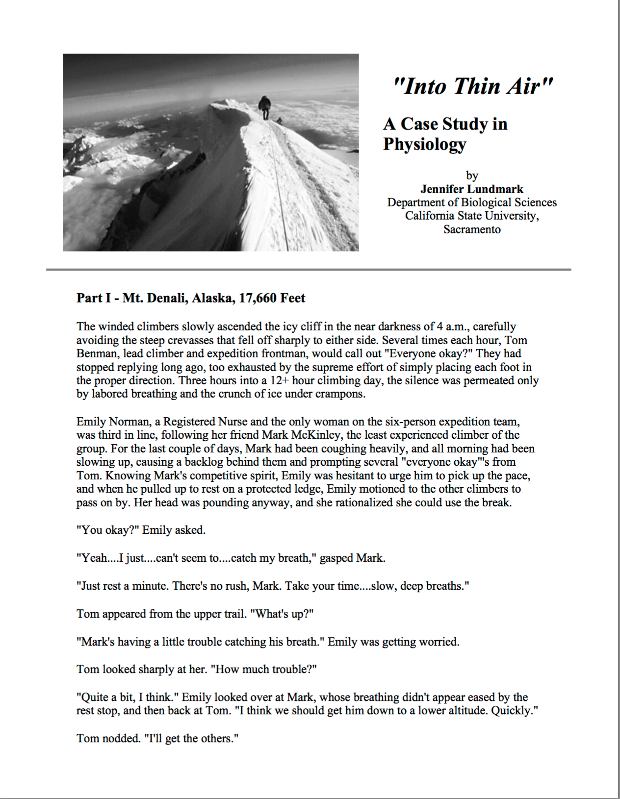 free case study on stress management