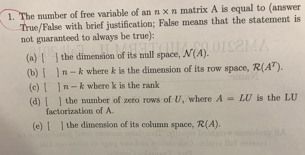 what is a free variable in r