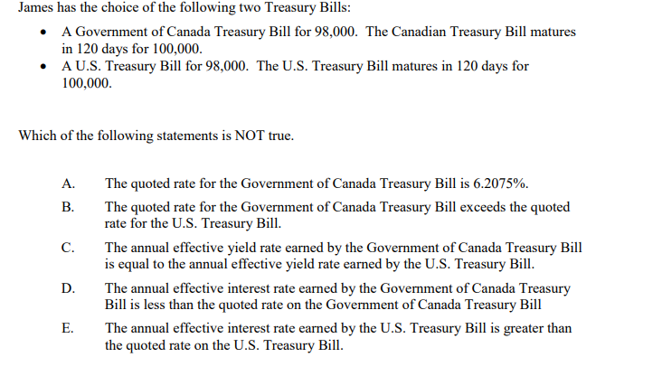 When do treasury bills mature