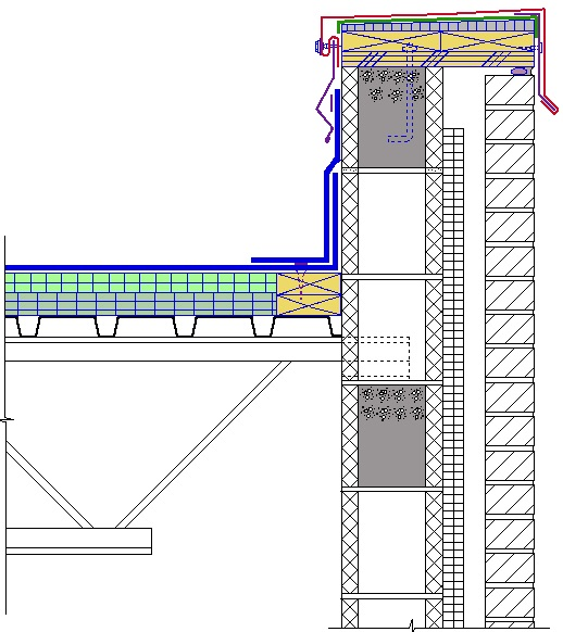 Steel Ceiling Joists: The Drawing Below Shows A Section Through A Steel