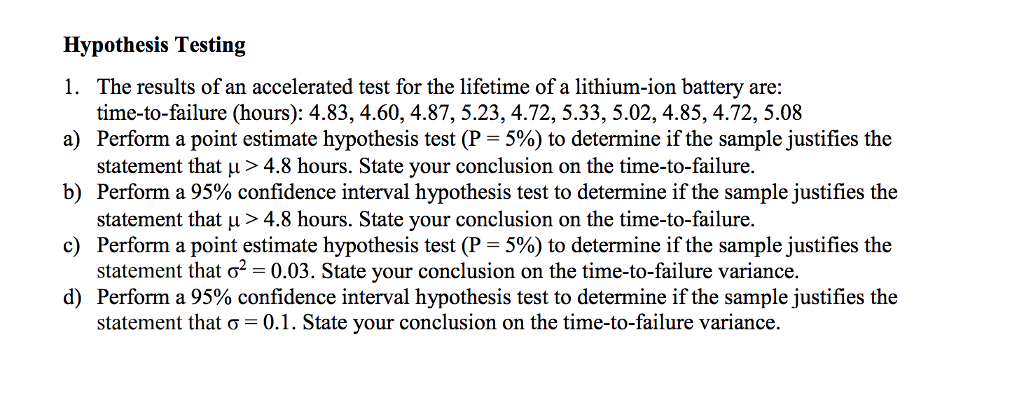 The Test of a Lifetime