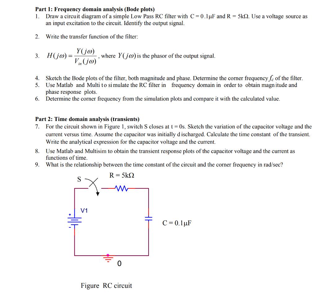 Simple Electronics Circuit Diagram