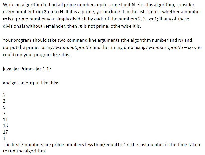 Write a program to check whether a number is prime in java