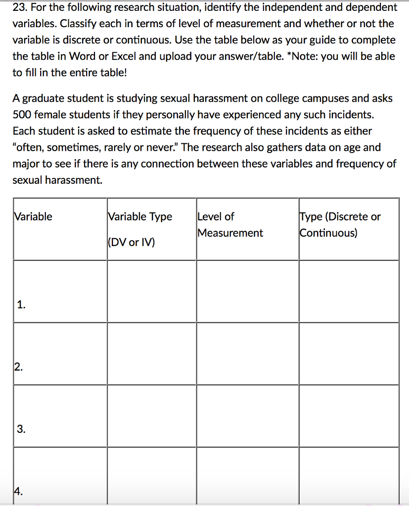 Sexual harassment exam questions and answers