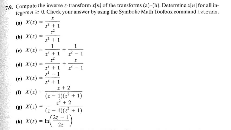 INVERSE Z TRANSFORMS PDF