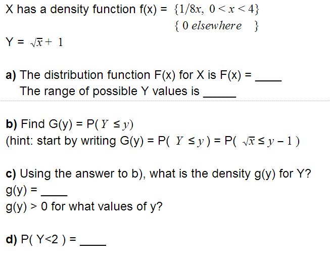 write an inequality to describe the possible range of values for x