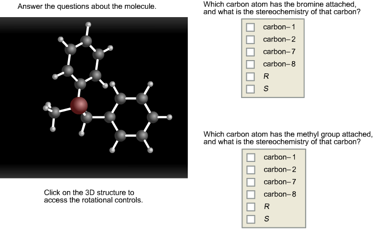 Solved: Answer The Questions About The Molecule. Click On ... | Chegg.com