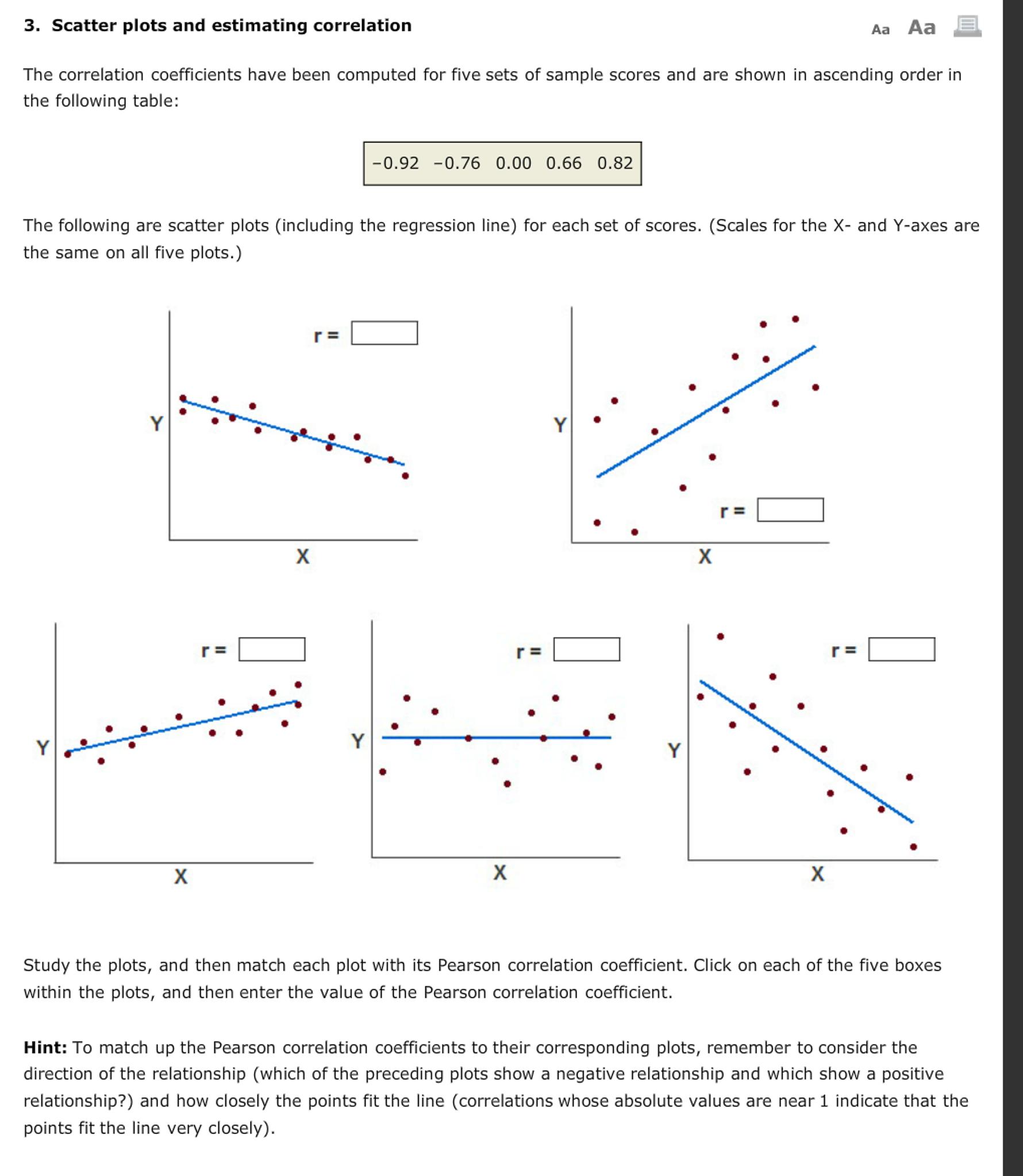 correlation coefficient worksheet the best and most comprehensive worksheets. Black Bedroom Furniture Sets. Home Design Ideas