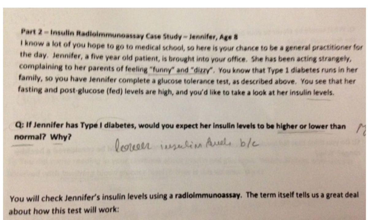 insulin change situation studies