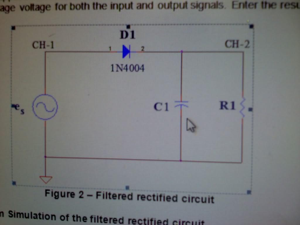 Figure 2 - Filtered rectified circuit