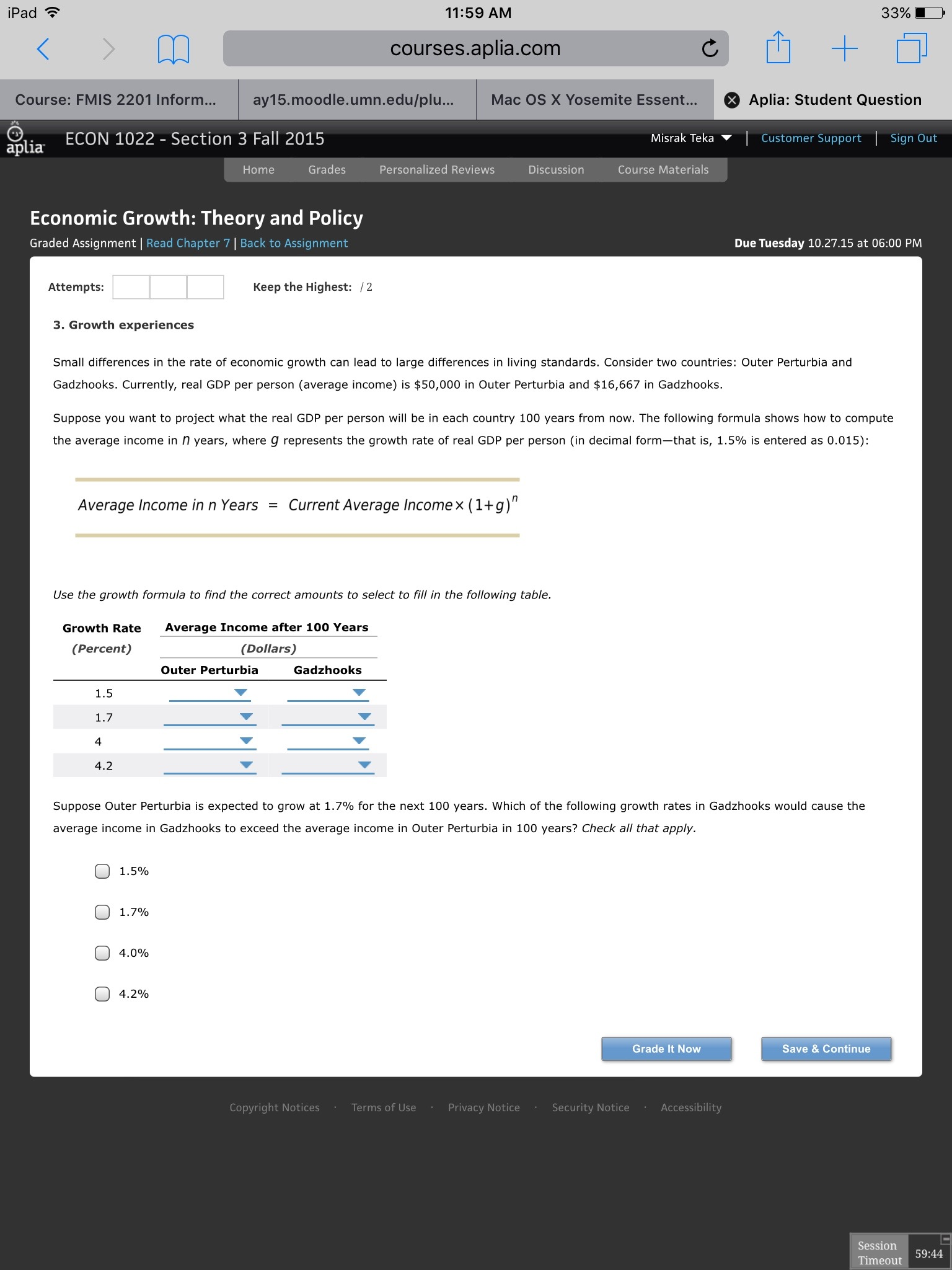Help with Aplia accounting assignment: 13-5 Mastery Problem?