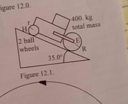 how to find the resulting accelleration of mass