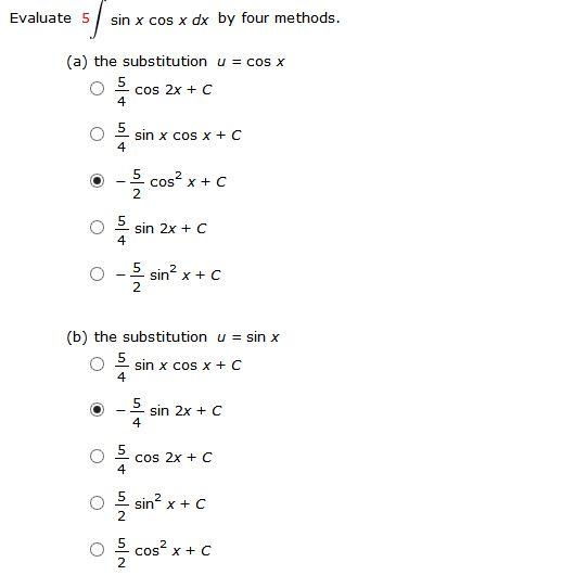 Solved: (c) The Identity Sin 2x = 2 Sin X Cos X (d) Integr