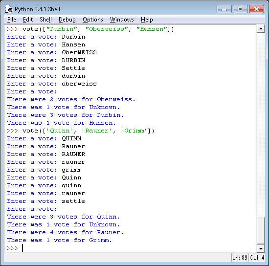 Python - Functions