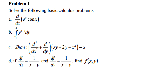 integral calculus solved problems pdf