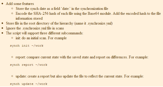 Here Is The Example Used In Class: [code] #!/usr/b