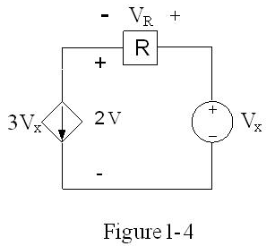 In Figure 1-4, if power supplied by the