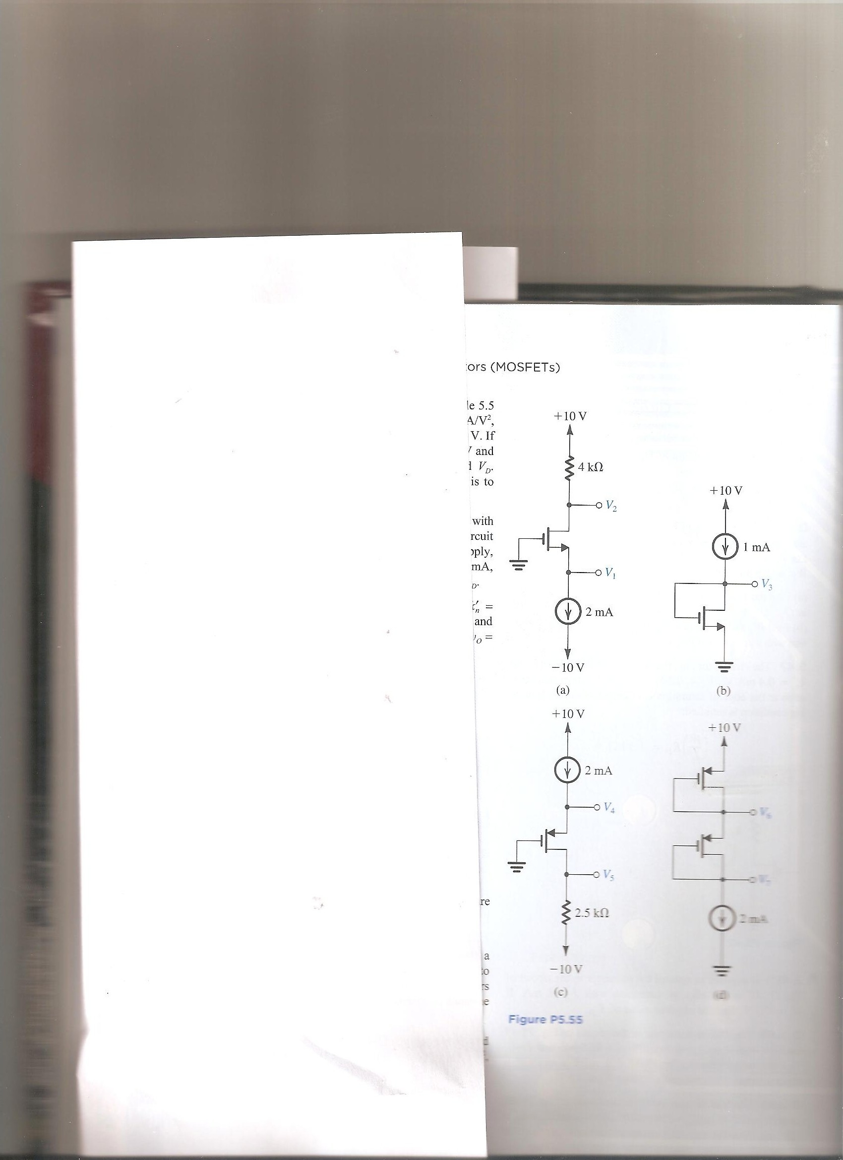 Solved In The Circuits Shown Fig P555 Attached Above Designer Of Circuit Claims Transistor Connected To