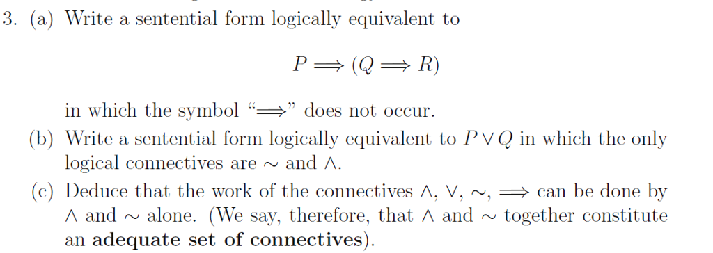 Logically Equivalent isnt Equivalent
