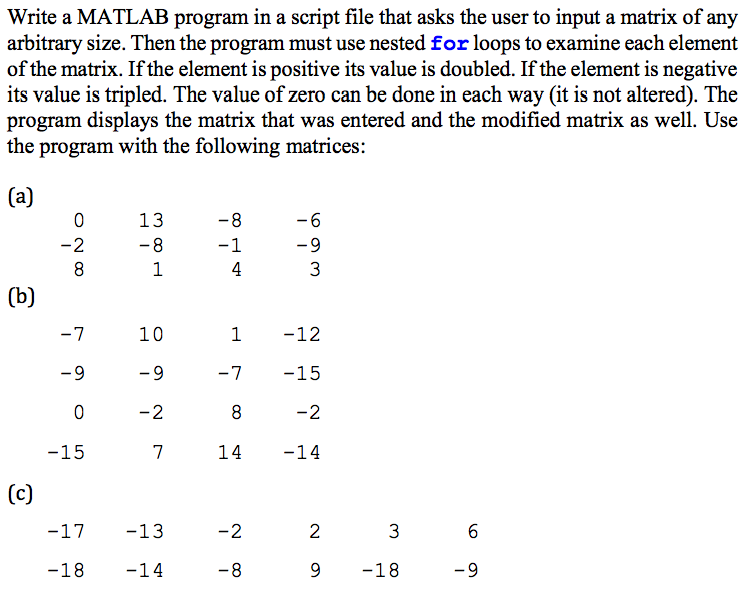 MATLAB - M-Files