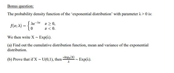 Write an essay on the probability distribution