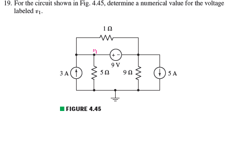 For the circuit shown in Fig.4.45, determine a num