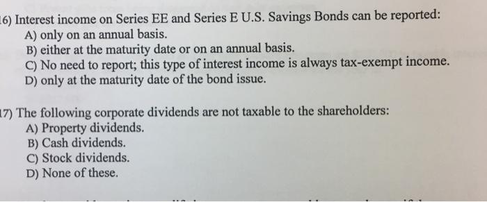 Series ee bonds maturity date