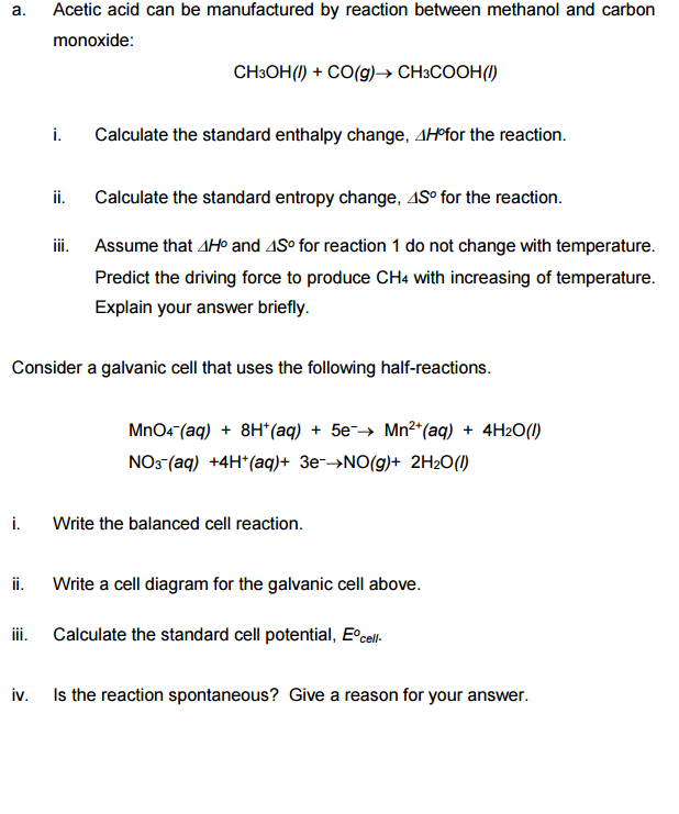 Write and balance an equation with acetic acid and sodium hydroxide?