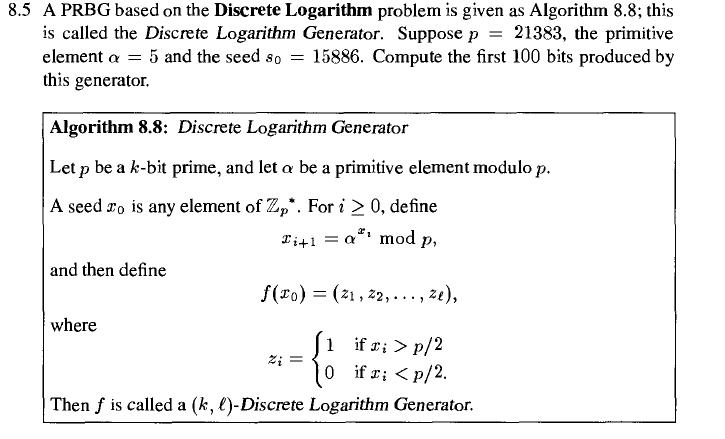 why is discrete logarithm hard