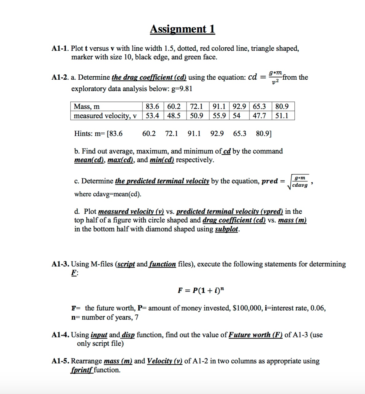 I need help on this assignment?