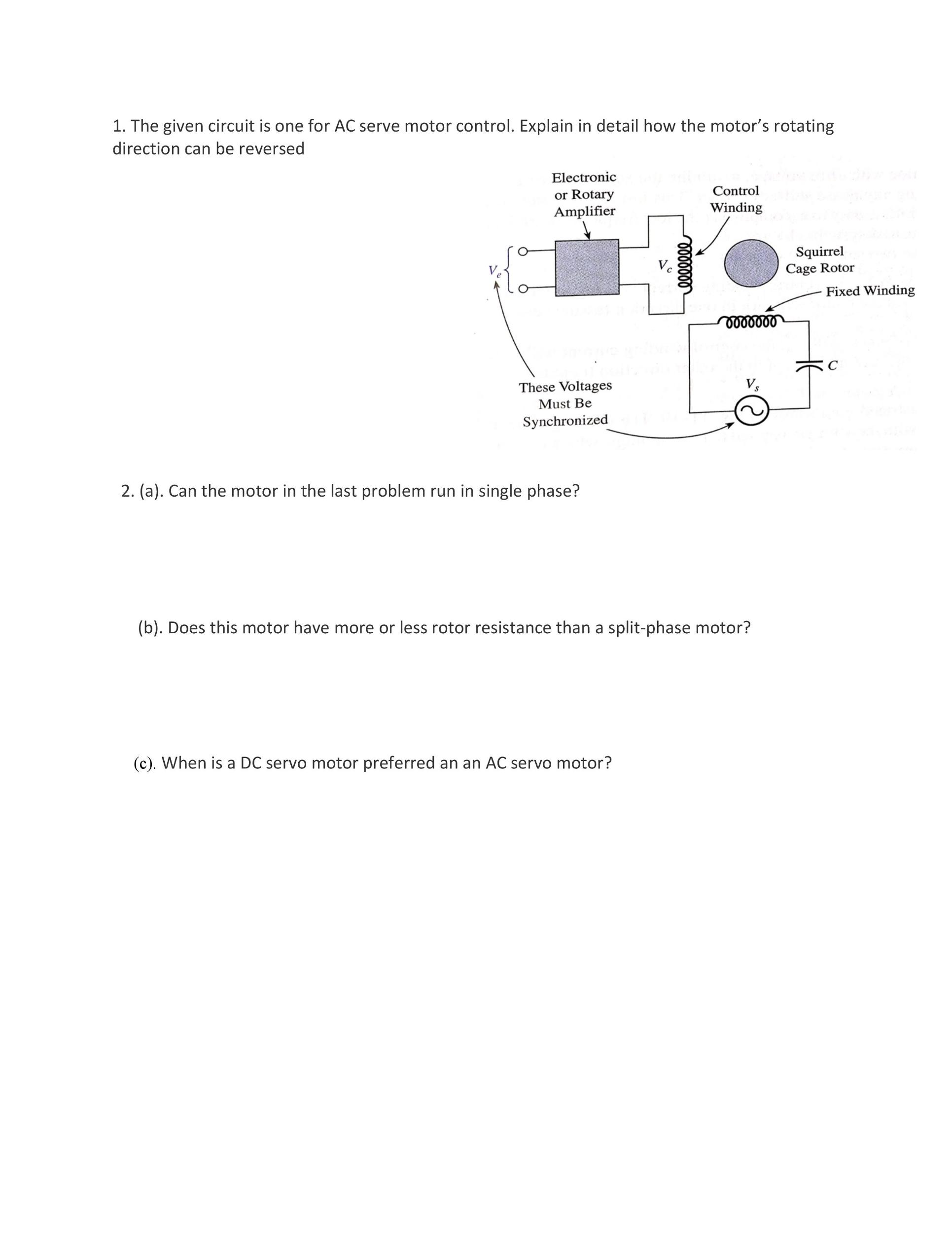 Split Phase Motor Connection Diagram Split Phase Motor Wiring Diagram