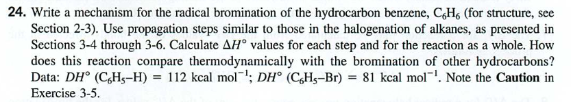 11: Free Radical Halogenation of Alkanes
