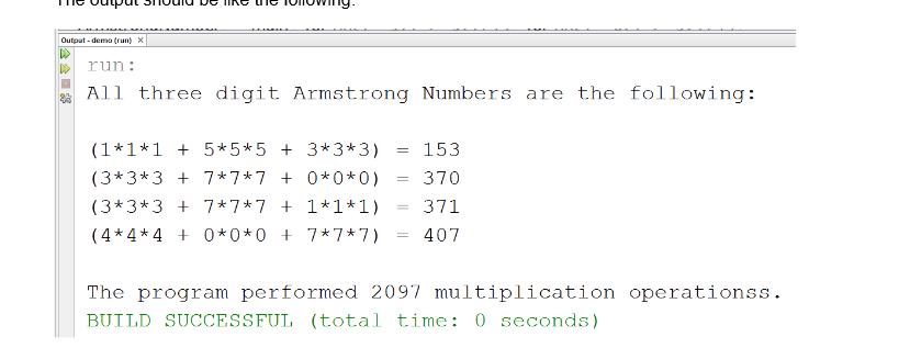 Write a program to input a number and print if it is a Double Armstrong number or not