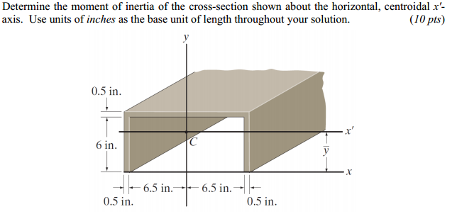 Moment of Inertia of Beam Sections