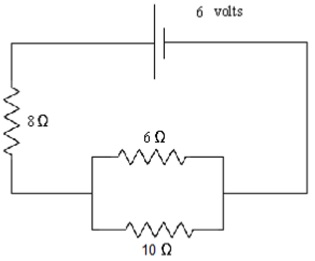 Solved use the above circuit diagram to calculate the re question use the above circuit diagram to calculate the req and total current in the circuit 1req hi ccuart Images