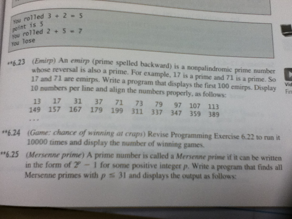 Program: Write a program to check the given number is a prime number or not?